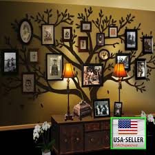 Extra Large Family Tree Wall Decal Family Tree Wall Sticker Tree Wall Decal Living Room Family Tree Wall Decal