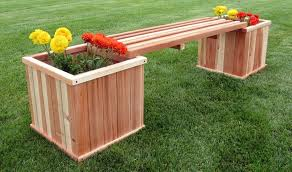 planter box with bench plans diy free
