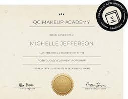 makeup portfolio development work