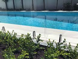 Mini Post Pool Fencing And Balustrades Haynes Glass Nz