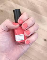 i tested 12 non toxic nail polishes