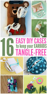 diy cases to keep your earbuds tangle free