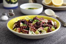 Octopus Potato Salad ...
