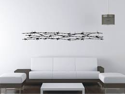 Barbed Wire Large Vinyl Decal Wall Sticker Wall Tattoo Etsy