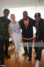 Clifton Bell, recording artist Brielle, Gary 'Silky' Davis and Mecca...  News Photo - Getty Images