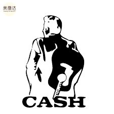 Johnny Cash Art Portraits Mature Man Vicissitudes Of Life Sticker For Car Rear Truck Bumper Laptop Art Wall Die Cut Vinyl Decal Vinyl Decal Art Walljohnny Cash Aliexpress