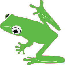 4in X 4in Green Tree Frog Sticker Vinyl Decal Vehicle Bumper Window Decal Walmart Com Walmart Com