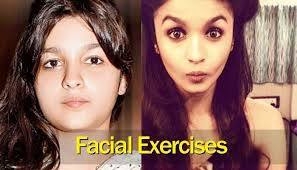 exercises to slim down your face