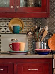 cupboards backsplash black cabinets