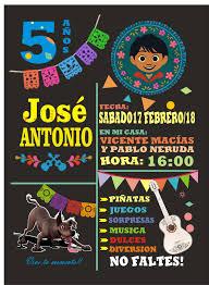 Cumple Martina 5 Invitaciones De Fiesta Invitaciones Mexicanas