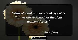 quotes by alain de bottom the author of essays in love