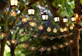 solar outdoor string lights