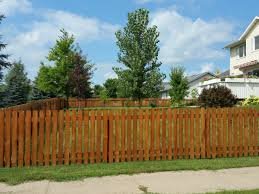 Dog Ear Picket Fence Gallery Phillips Outdoor Services Onalaska Wi
