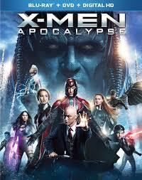 x men apocalypse blu ray dvd 2016