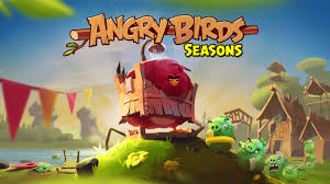 ArtStation - Angry birds seasons.