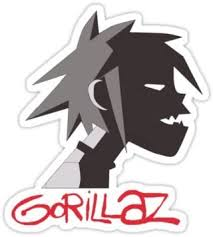 Amazon Com Gorillaz Tee Size W8 2 X H9 1 Centimeter Car Motorcycle Bicycle Skateboard Laptop Luggage Vinyl Sticker Graffiti Decal Bumper Sticker By August999 Arts Crafts Sewing