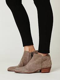 petty suede ankle boot by sam edelman