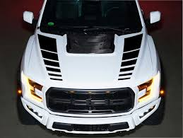 Product Ford Raptor F150 Svt Hood Vinyl Decals Graphics Kit Stripe 2016 2018