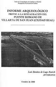 Resultado de imagen de Obras en el puente romano de Villarta