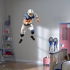 Peyton Manning Colts Nfl Footballfathead Decal Lifesize Wall Graphics For Sale Online Ebay