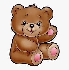 Cute Bear Clipart Cartoon Filii Clipart Teddy Bear - Cute Teddy ...