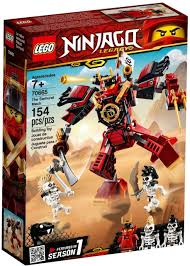 LEGO Ninjago Legacy The Samurai Mech Set 70665 - ToyWiz