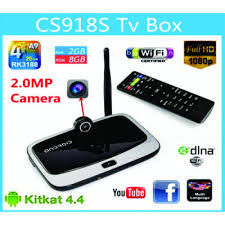 Android Smart TV Box with Web Camera online shopping in Pakistan
