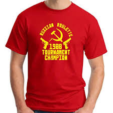 t shirt oldeng00775 russian roulette