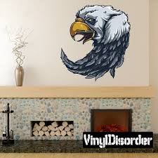 Chief Native American Eagle Wall Decal Wall Fabric Vinyl Etsy