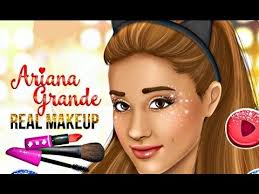 ariana grande real makeup games for