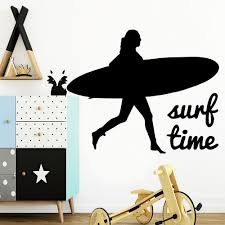 Funny Surf Wall Sticker Wall Decal Sticker Home Decor Removable Wall Decals Ebay