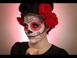 sugar skull makeup tutorial halloween