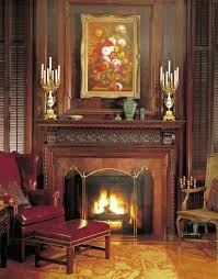 the wood fireplace surround simple