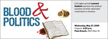 Leonard Zeskind: Blood and Politics | Kansas City Public Library
