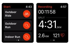 fitness apps for the apple watch