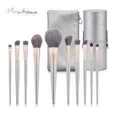 miraitowa shining makeup brushes set