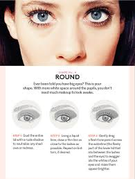 makeup for small eyes and oval face