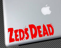 Zeds Dead Car Decal Etsy