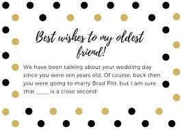 bridal shower wishes what to write in a bridal shower card examples