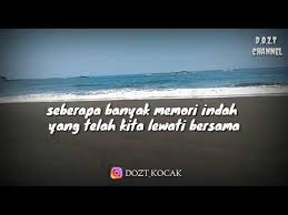 quotes of the day kenangan rindu