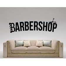 Hannah Larsen Barbershop Hairdresser Hair Salon Wall Decal Vinyl Sticker Wall Decor Removable Waterproof Decal 21l