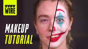 joker makeup tutorial joaquin phoenix