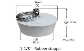 household rubber sink stopper bathroom