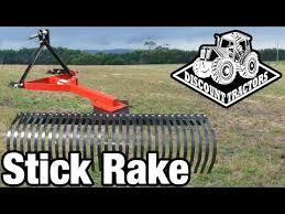 tractors stick rake