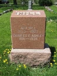 "Elizabeth Ada ""Ada"" Reed Ashley Hill (1853-1922) - Find A Grave Memorial"