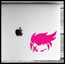 Zarya Icon Overwatch Inspired Vinyl Car Laptop Decal Decal Drama