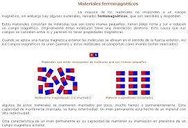 Resultado de imagen de Sin embargo, en un trozo no magnetizado de material ferromagnético