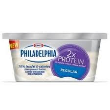 new philadelphia 2x protein cream