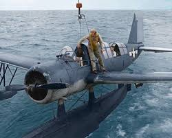 Navy OS-2U Kingfisher scout plane WWII   Us navy aircraft ...