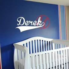 Baseball Wall Decals Boy Bedroom Decor Db199 Designedbeginnings